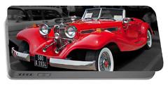 1934 Mercedes 500k Cabriolet Portable Battery Charger