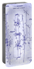 1935 Helicopter Patent Blueprint Portable Battery Charger