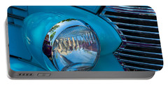 1936 Chevy Coupe Headlight And Grill Portable Battery Charger