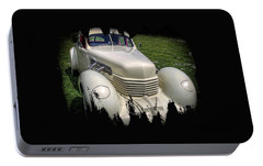 Portable Battery Charger featuring the photograph 1936 Cord Automobile by Thom Zehrfeld