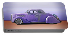 1936 Ford 'tail Dragger' Custom Coupe Portable Battery Charger