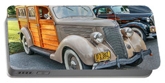 1936 Ford V8 Woody Station Wagon Portable Battery Charger