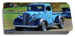 1937 Chevy Truck Portable Battery Charger by Mike Martin