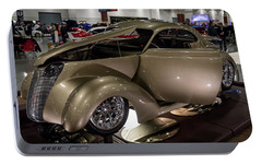 Portable Battery Charger featuring the photograph 1937 Ford Coupe by Randy Scherkenbach