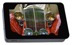 Portable Battery Charger featuring the photograph 1928 Classic Packard 443 Roadster by Thom Zehrfeld