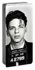 1938 Young Frank Sinatra Mugshot Portable Battery Charger