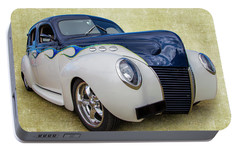 Portable Battery Charger featuring the photograph 1939 Ford by Keith Hawley