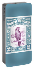 1939 North Borneo Palm Cockatoo Postage Stamp Portable Battery Charger