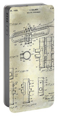 1939 Trumpet Patent Portable Battery Charger by Jon Neidert