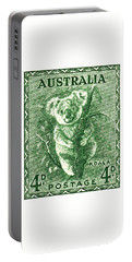 1940 Australia Koala Postage Stamp Portable Battery Charger
