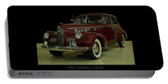 Portable Battery Charger featuring the photograph 1940 Cadillac Lasalle by Chris Flees