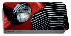 Portable Battery Charger featuring the photograph 1940 Chevy 2-door by Eric Christopher Jackson