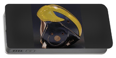 1940s Leather Wolverine Helmet Portable Battery Charger
