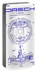 1941 Porsche Brake Mechanism Patent Blueprint Portable Battery Charger