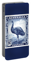 1942 Australia Emu Bird Postage Stamp Portable Battery Charger