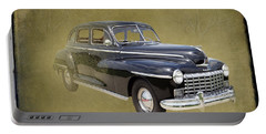 1946 Dodge D24c Sedan Portable Battery Charger