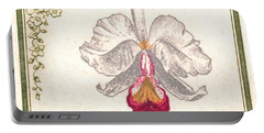 1947 Colombia Cattleya Chocoensisi Orchid Stamp Portable Battery Charger