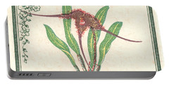 1947 Colombia Masdevallia Orchid Postage Stamp Portable Battery Charger