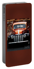 Portable Battery Charger featuring the photograph 1947 Ford F150 Regular Cab Pick Up by Baggieoldboy