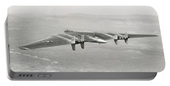 1947 Northrop Flying Wing Portable Battery Charger by Historic Image