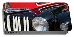 Portable Battery Charger featuring the photograph 1947 Vintage Ford Pickup Truck by Theresa Tahara