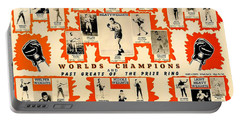 1947 World Champions And Past Greats Of The Prize Ring Portable Battery Charger