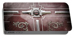 1948 American Lefrance Fire Truck Emblem -0262ac Portable Battery Charger