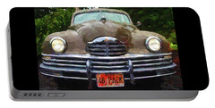 1948 Packard Super 8 Touring Sedan Portable Battery Charger by Thom Zehrfeld