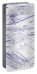 1949 Helicopter Patent Blueprint Portable Battery Charger