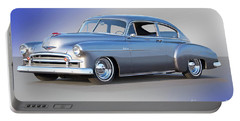 1950 Chevrolet 'sixties Style' Custom Sedan Portable Battery Charger
