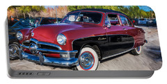 1950 Ford 2 Door Crestliner Painted    Portable Battery Charger