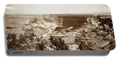 1950 Grand Canyon Desert Point Portable Battery Charger