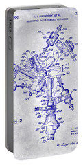 1950 Helicopter Patent Blueprint Portable Battery Charger