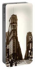 1950 Times Square New York Portable Battery Charger