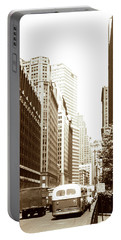 1950s 6th Ave Nyc Portable Battery Charger by Marilyn Hunt