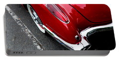 Portable Battery Charger featuring the photograph 1959 Corvette by M G Whittingham