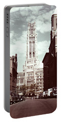 1950s Riverside Church New York Portable Battery Charger