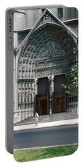 1950s Riverside Church New York Doorway Portable Battery Charger