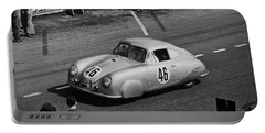 1951 Porsche At Le Mans - Doc Braham - All Rights Reserved Portable Battery Charger