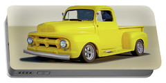 1952 Ford Custom Pickup Truck Portable Battery Charger