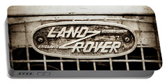 1952 Land Rover 80 Grille  Emblem -0988s2 Portable Battery Charger