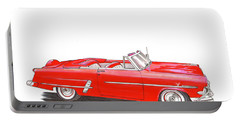 1953 Ford Crestline Sunliner Convertible Portable Battery Charger