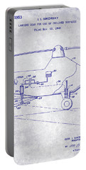 1953 Helicopter Patent Blueprint Portable Battery Charger