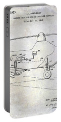 1953 Helicopter Patent Portable Battery Charger by Jon Neidert