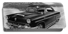 1953 Mercury Monterey On Bonneville Portable Battery Charger