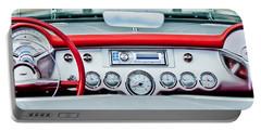 1954 Chevrolet Corvette Dashboard Portable Battery Charger