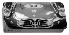 1954 Maserati A6 Gcs -0255bw Portable Battery Charger