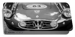1954 Maserati A6 Gcs -0255bw Portable Battery Charger