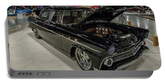 1955 Ford Customline Portable Battery Charger by Randy Scherkenbach