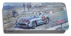 1955 Mercedes Benz 300 Slr Moss Jenkinson Winner Mille Miglia 01-02 Portable Battery Charger